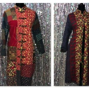 Jackets & Blazers - JiangNan Multi Colour REVERSIBLE Casual Loose